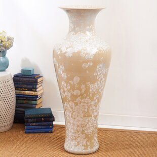 Dundee Mother of Pearl Effect Table Vase