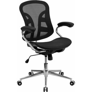 Symple Stuff Kruger Mid-Back Ergonomic Me..