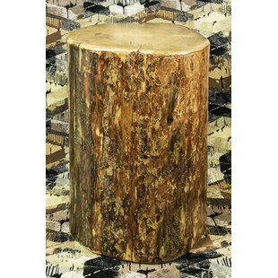 Reviews Tustin Cowboy Stump End Table By Loon Peak
