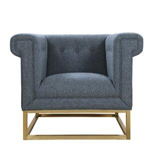Everly Quinn Dollman Accent Club Chair