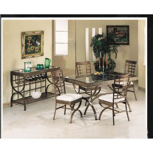 A&J Homes Studio Cleopatra 5 Piece Dining Set