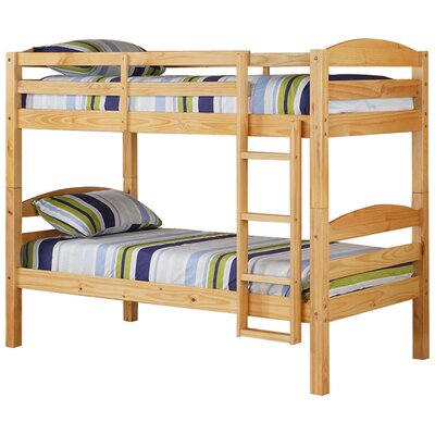 quality design d1db0 3baf2 Viv Rae Abby Twin over Twin Bunk Bed Bed Frame Color Natural