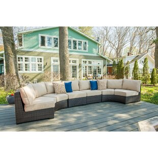 Darden 4 Piece Sectional Seating Group with Cushions