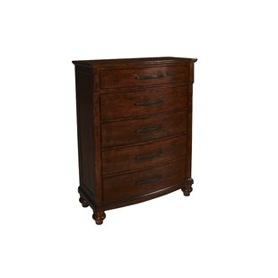 Semaj 5 Drawer Standard Dresser by Alcott Hill Great Reviews