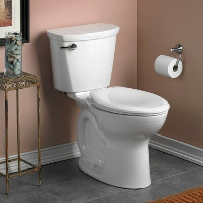 American Standard Cadet Pro 1.28 GPF Elongated Two-Piece Toilet (Seat Not Included)