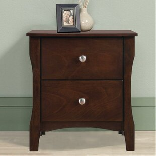 Tenika 2 Drawer Nightstand