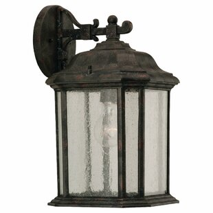 Savings Burtt 1-Light Outdoor Wall Lantern By Darby Home Co