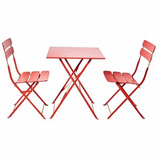 Feltman 3 Piece Bistro Set