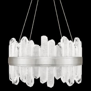 Fine Art Lamps Lior Rock 24-Light Drum Chandelier