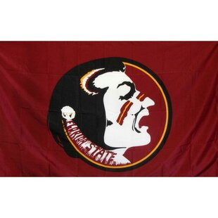 Florida State Florida State University Seminoles Logo Only Polyester 3' x 5' House Flag By NeoPlex