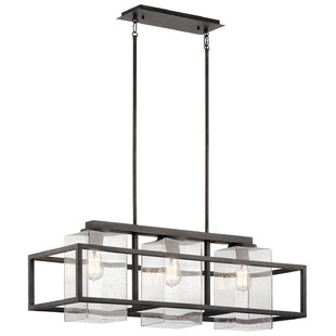 Hafley 3-Light Outdoor Chandelier
