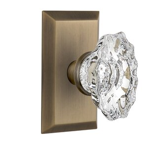 Chateau Passage Door Knob with Studio Plate by Nostalgic Warehouse