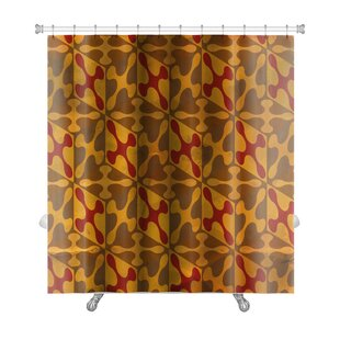 Gamma Vintage Pattern Abstract Premium Single Shower Curtain