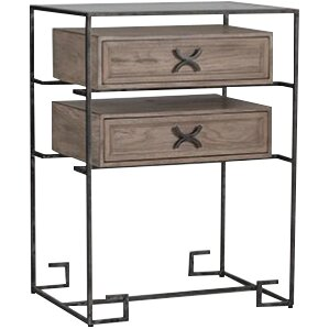 Gabby Jennifer End Table with Storage