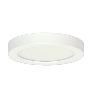 Online Reviews Weekes 1-Light Flush Mount By George Oliver