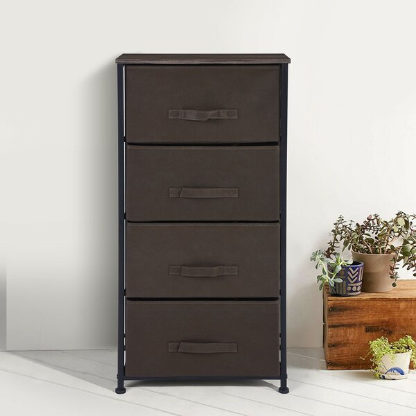 Jamie Fabric 4 Drawer Chest by Dotted Line™