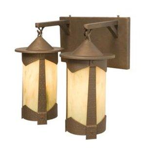 Steel Partners Pasadena 2-Light Outdoor Wall Lantern