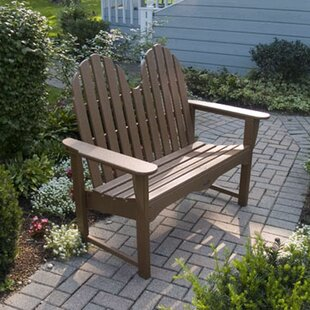 Adirondack Plastic Bench