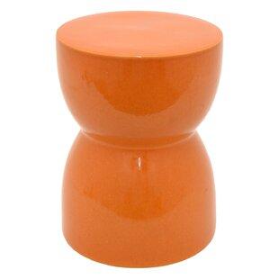 Baldwyn Ceramic Garden Stool by Ebern Designs