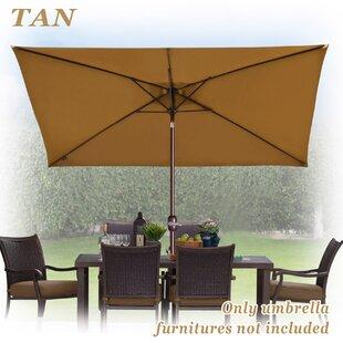 Bickford Outdoor Garden Patio Market Umbrella by Red Barrel Studio