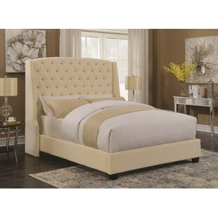 Nyle Upholstered Panel Bed by Rosdorf Park