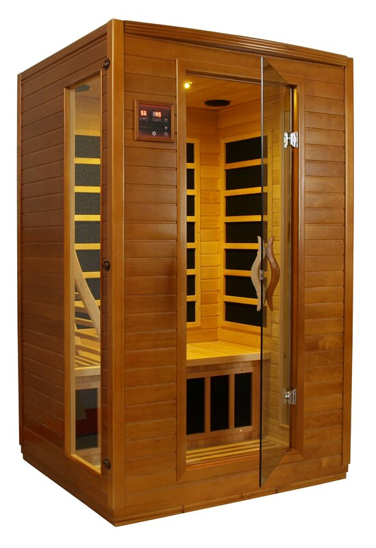 dynamic infrared 2 person far infrared sauna reviews. Black Bedroom Furniture Sets. Home Design Ideas