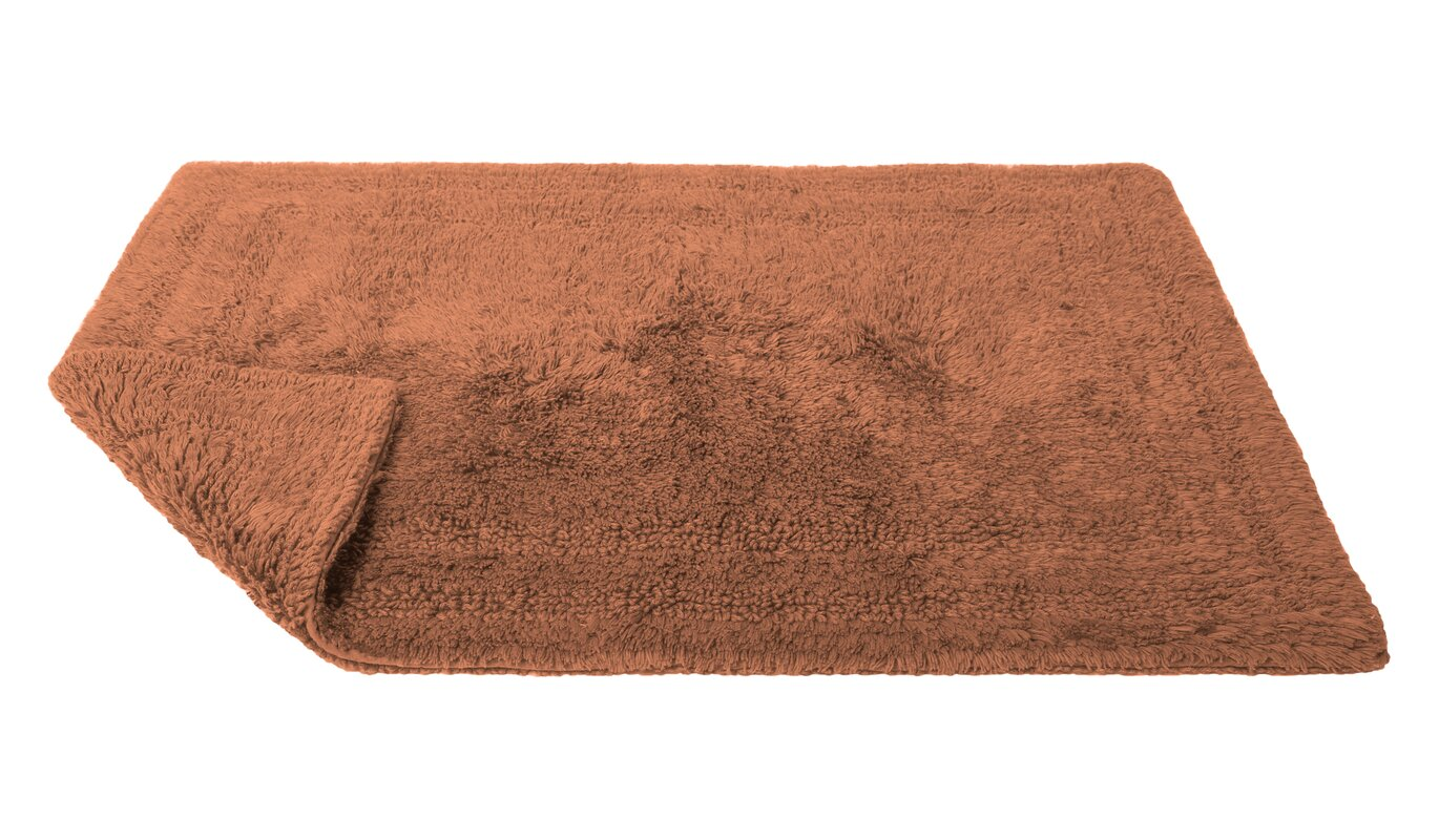 Caro Home Reversible Cotton Bath Rug \u0026 Reviews | Wayfair