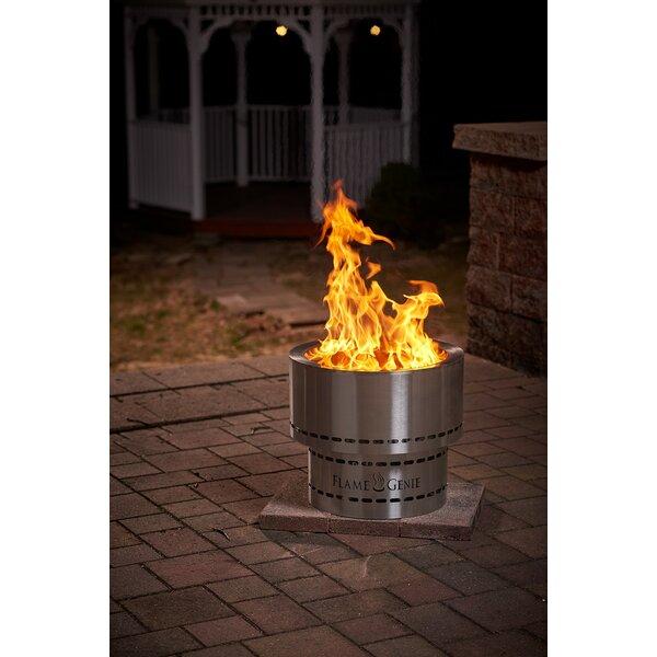 Flame Genie Inferno Steel Wood Pellet Fire Pit Reviews Wayfair