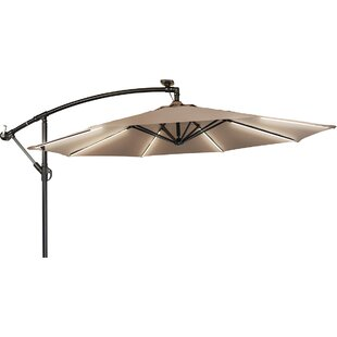 Brayden Studio Gorman 9' Lighted Umbrella