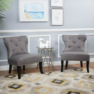 Great Price Moraga Slipper Chair (Set of 2) by Mercer41 Reviews (2019) & Buyer's Guide