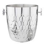 Myrtille Embossed Stainless Steel Champagne Bucket