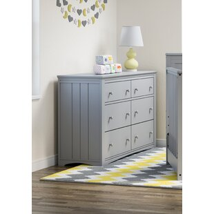Graco Hadley 6 Drawer Double Dresser