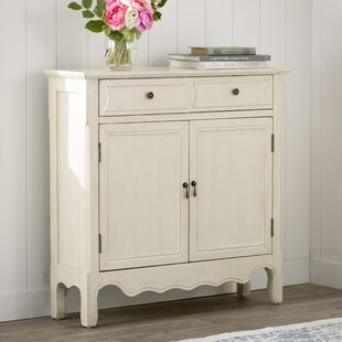 Lark Manor Mauzy 2 Drawer 2 Door Accent Cabinet