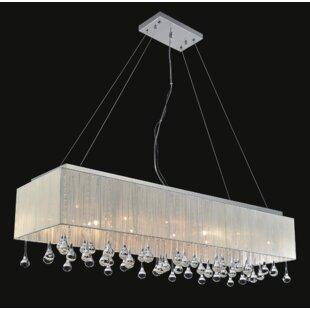 CWI Lighting 17-Light Kitchen Island Pend..