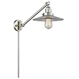 Longshore Tides Norah Vintage 1-Light Swing Arm Lamp
