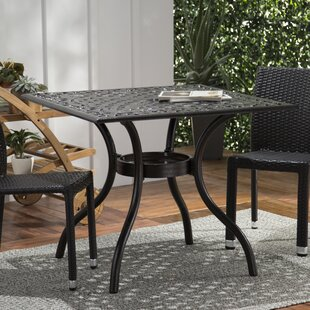 Beaufort Metal Dining Table by Astoria Grand