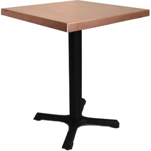 Mio Metals 24 in. Square Dining Table