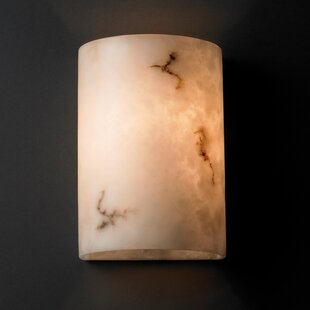 Brayden Studio Salina Cylinder 1-Light Flush Mount