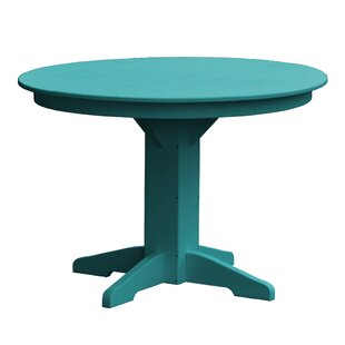 Newport Plastic/Resin Dining Table by Rad..