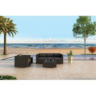 Azariah 3 Piece Sunbrella Sofa Set with Cushions