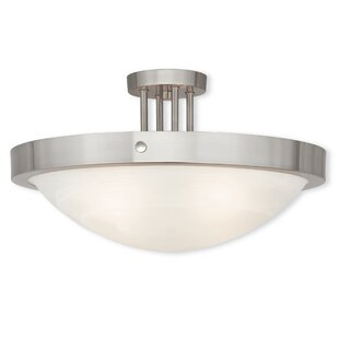 Ann 4-Light Semi Flush Mount b..