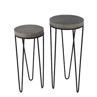 Prabal 2 Piece Plant Stand Set by Ivy Bronx