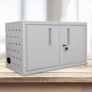 Wilson 2 Door Storage Cabinet by Luxor