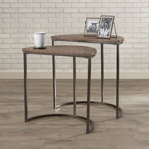 Euphemia 2 Piece Nesting Tables (Set of 2) by Mercury Row