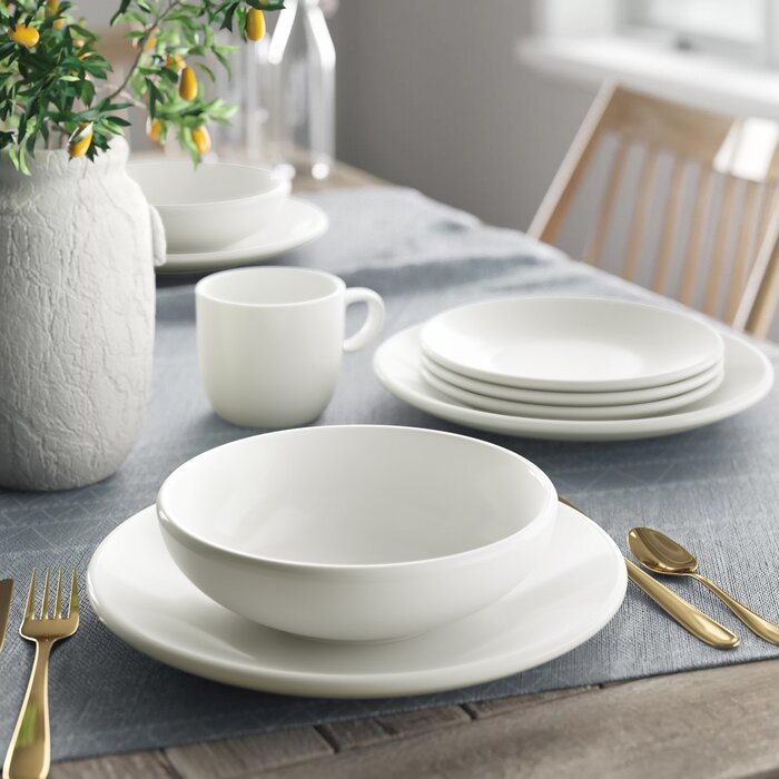 Everytime 24 Piece Dinnerware Set Service For 6