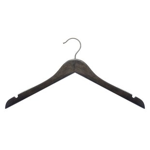 Read Reviews Wooden Top Hanger (Set of 25) By NAHANCO