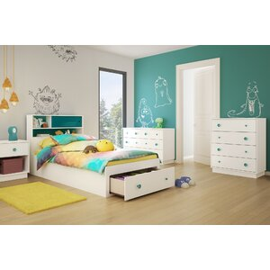 Little Monsters Twin Platform Configurable Bedroom Set