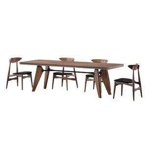 Mulkey 5 Piece Dining Set Mercury Row