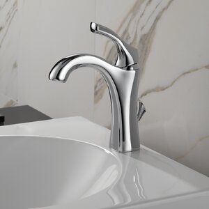 Addisonu0099 Single hole Bathroom Faucet with Drain Assembly and Diamond Seal Technology