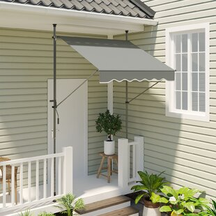Romola W 1.5 X D 3m Retractable Patio Awning By Sol 72 Outdoor
